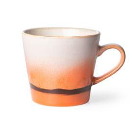 HKliving | 70's Ceramic Cappucino mug | Mars