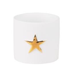 Räder Small Starlight | waxinelichtje met gouden ster