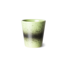 HKliving | 70's Ceramic ristretto mug / ristrettomokje | Kiwi