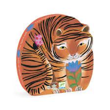 """DJeco Observatie Puzzel """"De tocht van de tijger"""" 3+"""
