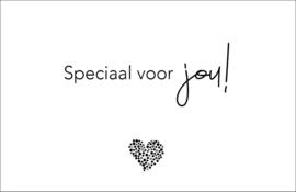 LEUK - mini kaartje - Speciaal voor jou!