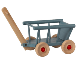 Maileg Wagon Micro blue | Bolderkar blauw