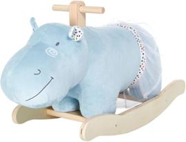Luxe hippo nijlpaard  hobbelpaard