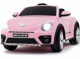 VW Beetle roze 12v met afstandsbediening
