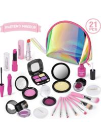 Peuter / kleuter make-up incl tasje 21 delig