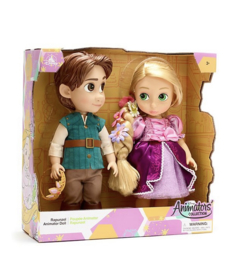 Animators rapunzel  poppen set 40 cm in doos