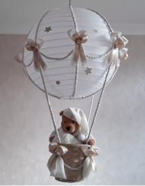 Exclusieve Ballonnen lamp pooh crème zand