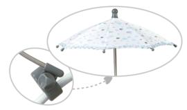 Spaanse poppenwagen middel incl tas en parasol 2019/20