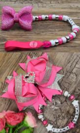 Set pink hart