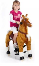 Ride on bruine pony  vanaf 3 jaar M