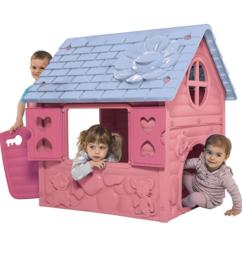 Roze / lila speelhuis  106cm