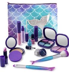 Peuter / kleuter make-up incl tasje xl zeemeermin