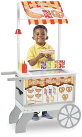 exclusieve foodtruck ijs / food incl accesoires hout