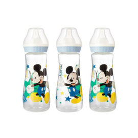 Set Mickey mouse baby flessen 3stuks