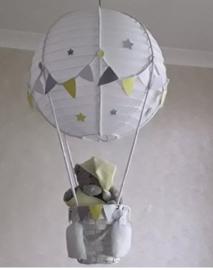 Exclusieve Ballonnen lamp me to you geel
