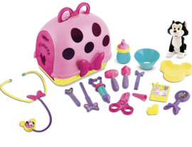 Minnie mouse dierenarts set