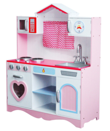 Houten speelgoed keuken incl accessoires