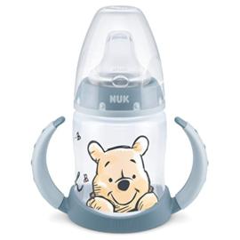 Pooh grijs   fles NUK 150ml (6-18 mnd )