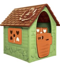 Groen oranje speelhuis  106cm