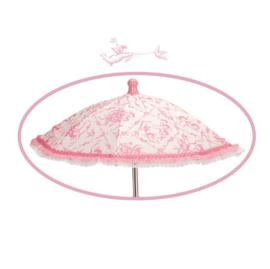 Spaanse poppenwagen middel incl Tas parasol etc