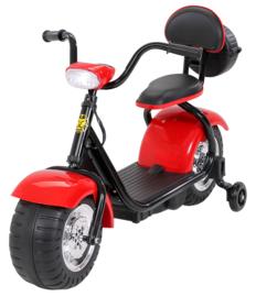 Harley Bike 6v met verlichting muziek rood