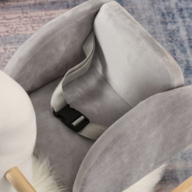 Luxe hobbel zwaan met zilver