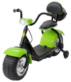 Harley Bike 6v met verlichting muziek groen
