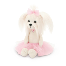 Mimi 42 cm incl jurk roze