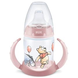 Pooh roze  fles NUK 150ml (6-18 mnd )