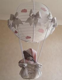 Exclusieve Ballonnen lamp me to you roze