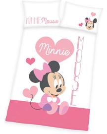 Minnie baby dekbed overtrek 135x100
