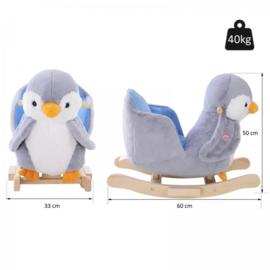 Hobbel pinguïn met muziek