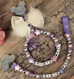 Set pink lila