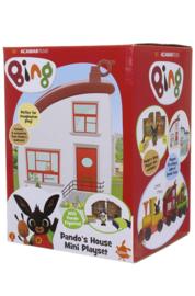 Bing set huisje incl pando figuur