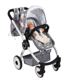 3 in 1 Spaanse poppenwagen ( wieg, wandelwagen) SKY