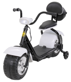 Harley Bike 6v met verlichting muziek wit
