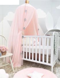 Prinsessen hemel/ tent... roze incl led verlichting