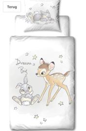 Bambi  dekbed overtrek 1 persoons