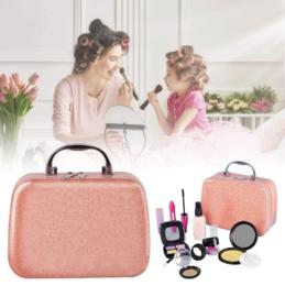Peuter / kleuter make-up incl roze koffertje (geeft niet af )