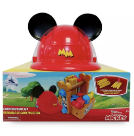 Mickey mouse werkset incl helm