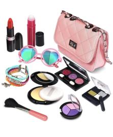 Peuter / kleuter make-up incl roze tasje ( geeft niet af )