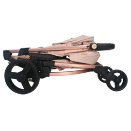 LE Roze met rose gouden frame combi set