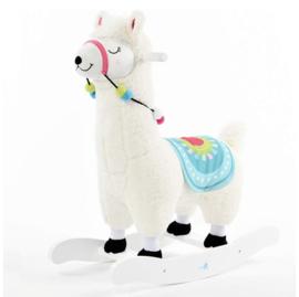 Luxe hobbel alpaca exclusief wit