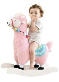 Luxe hobbel alpaca exclusief roze