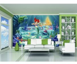 Disney behang Ariël kleine zeemeermin 360 x 255cm