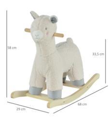 Luxe hobbel alpaca met muziek