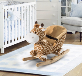 Hobbel giraffe met 32 liedjes