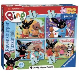 Bing Puzzel 2,3,4 en 5 stukjes