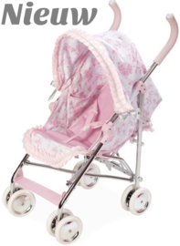 Spaanse luxe poppenbuggy M ( standenbuggy )