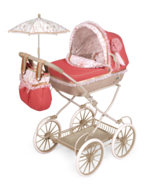 Spaanse poppenwagen xl 81 cm roze 2020